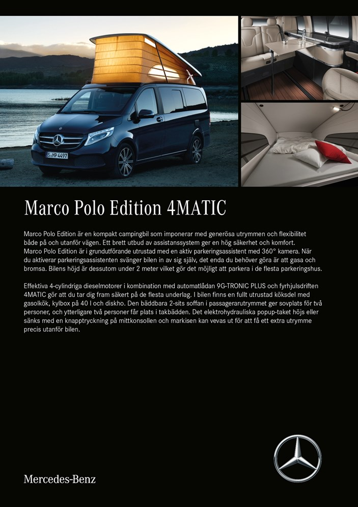 Marco Polo produktblad