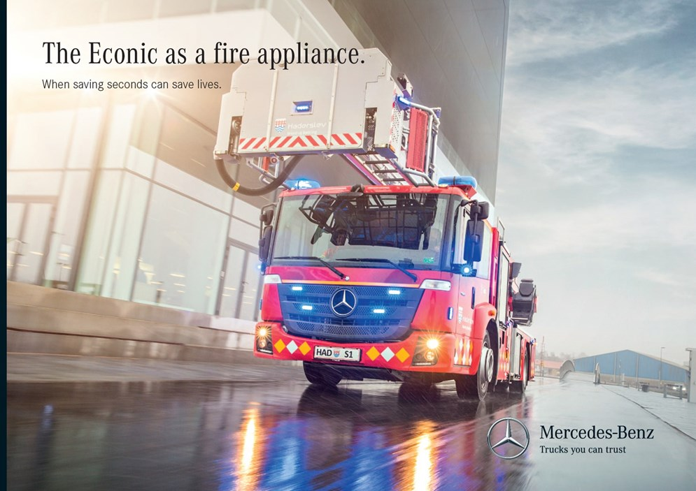 The Econic as a fire appliance