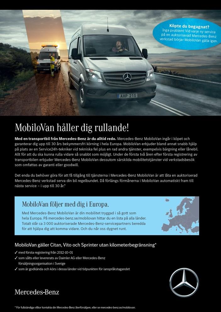 Produktblad MobiloVan